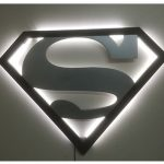 Roco Designs - Gallery Images - Superman plain with LED